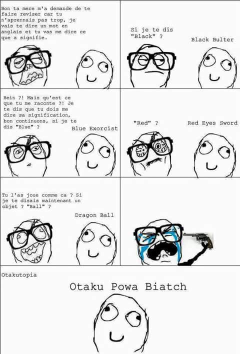 Otaku power - meme