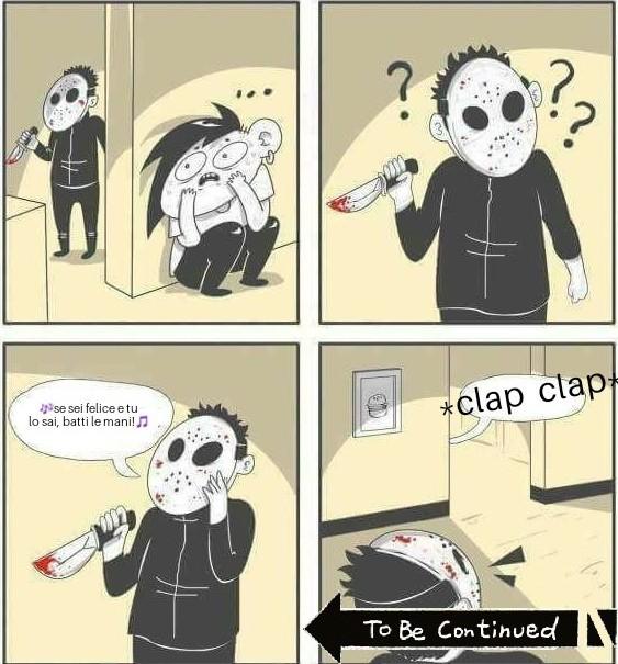 Finirà male - meme
