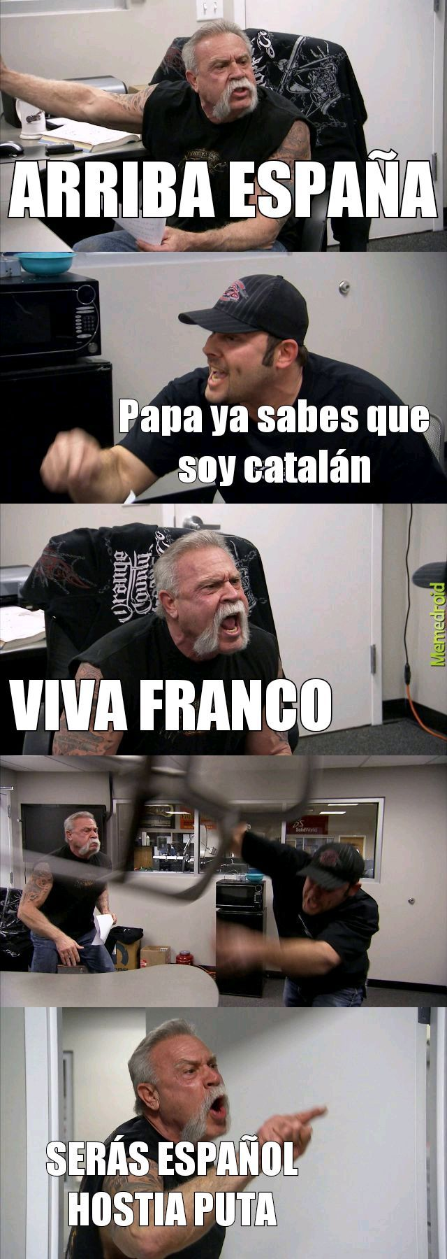Español suuuuper estereotipado - meme