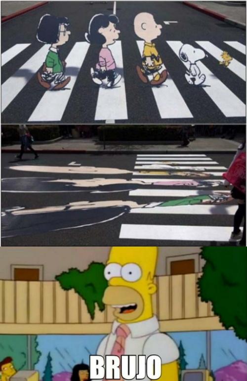 Ilusión óptica - meme