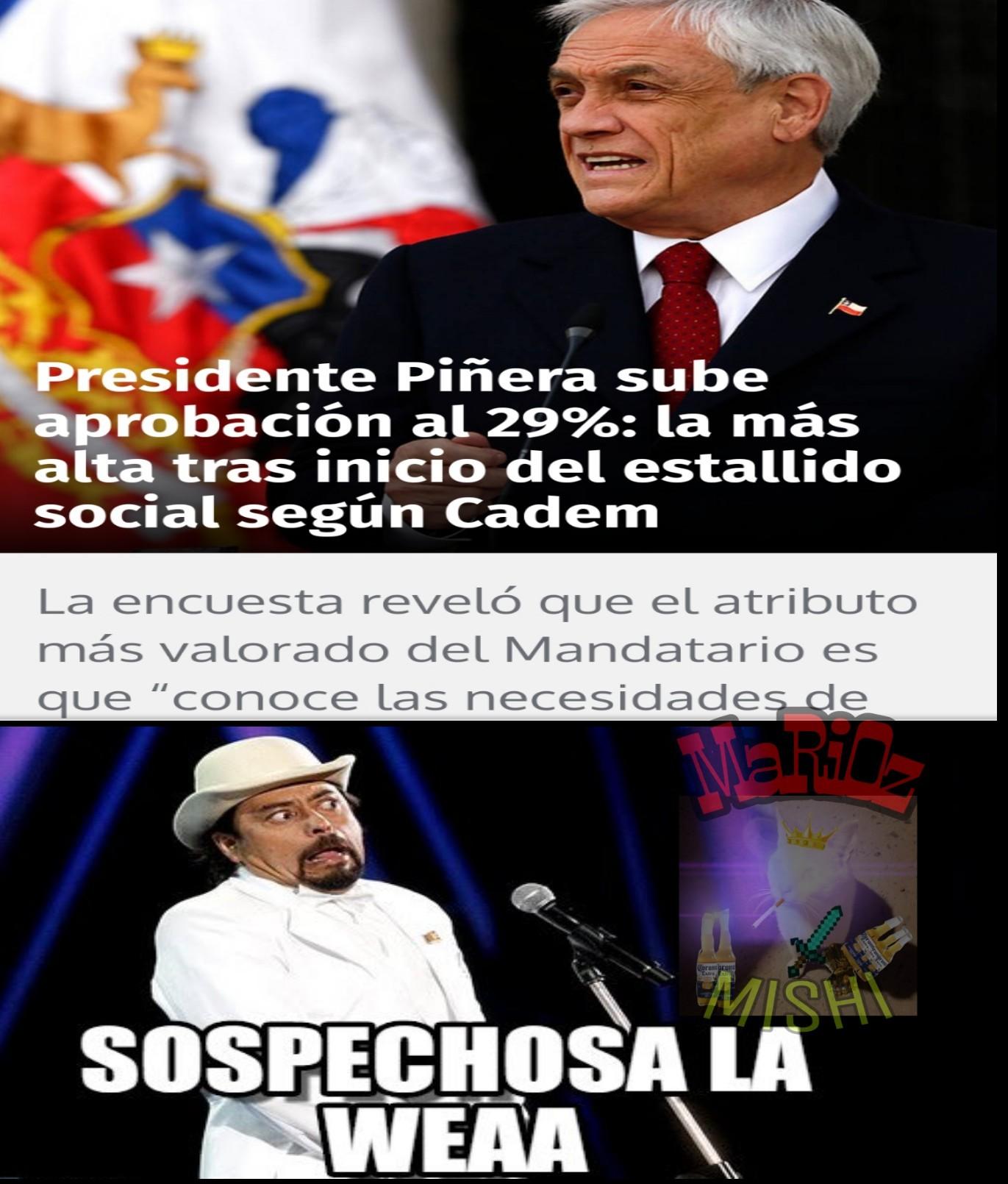 Piñera ql - meme