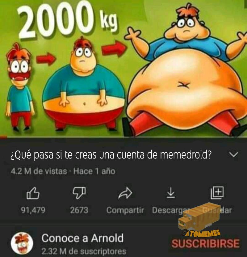 Pos engordas xd - meme