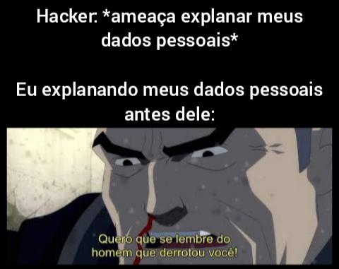 Hacker bunda mole - meme