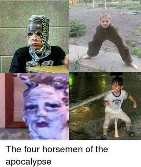 The horsemen - meme