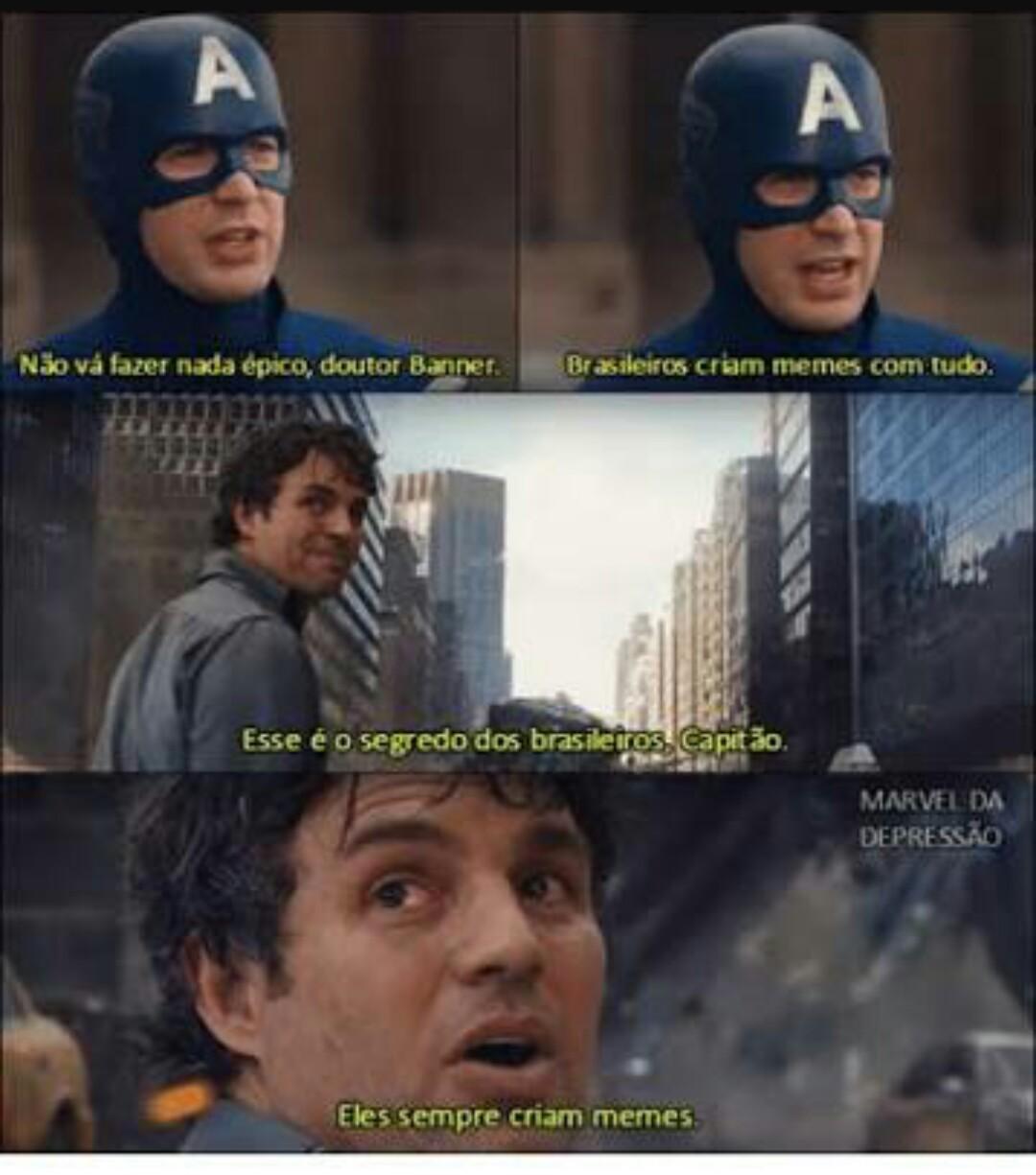 Brasil = melhores memes