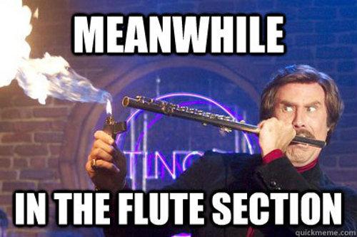 Flutes - meme