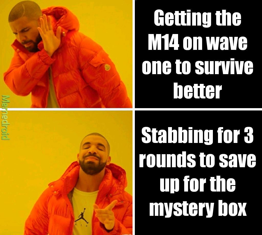 COD Zombies - meme