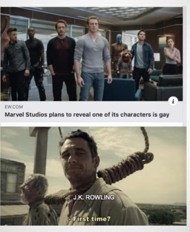 Jk Rowling 3000 - meme