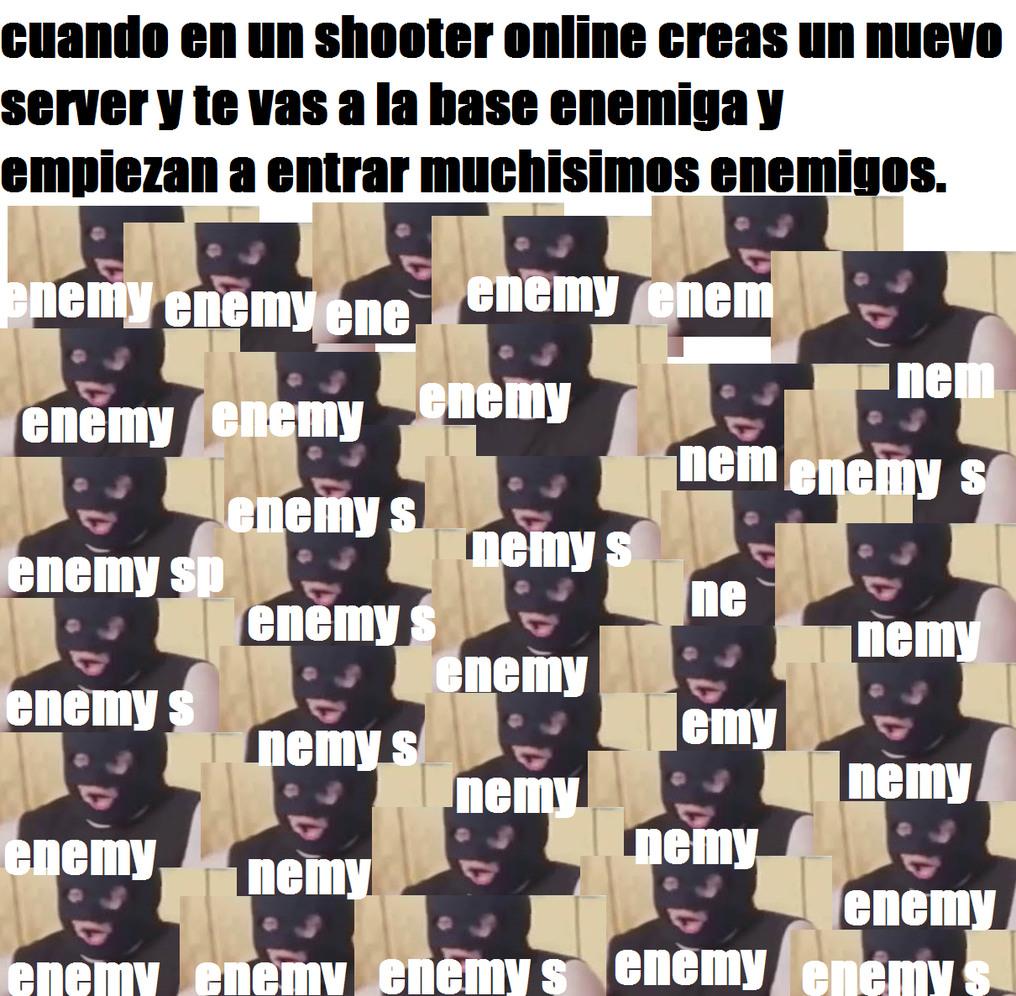 enemy spawned - meme