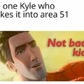 Kyle to the rescue