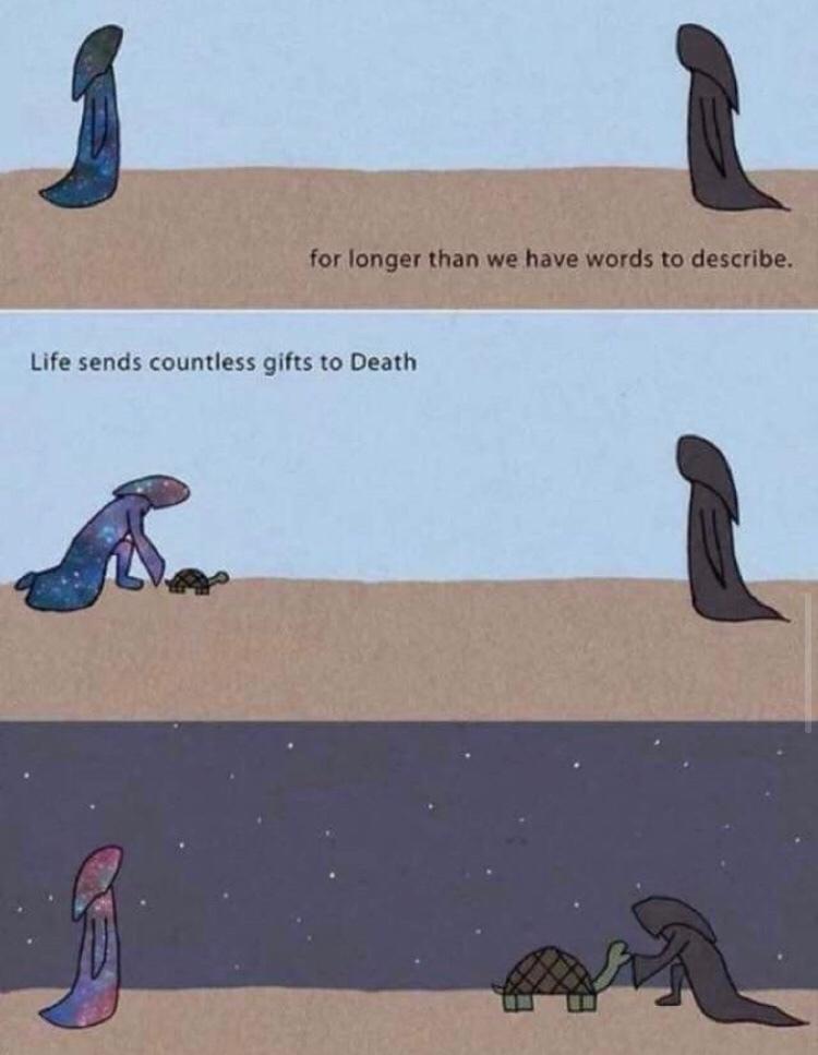 life/death - meme