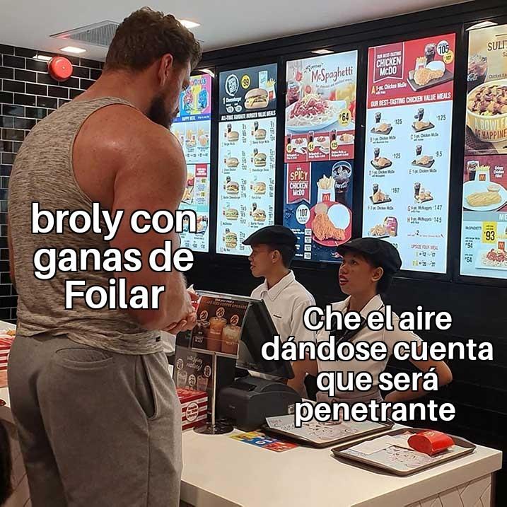 Super dragon Ball broly - meme