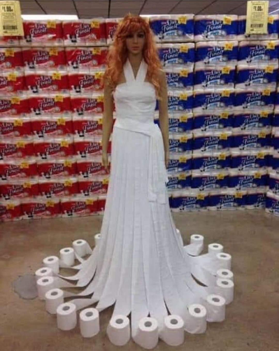 most expensive dress in history - meme