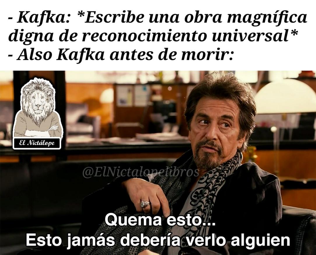 Kafka - meme