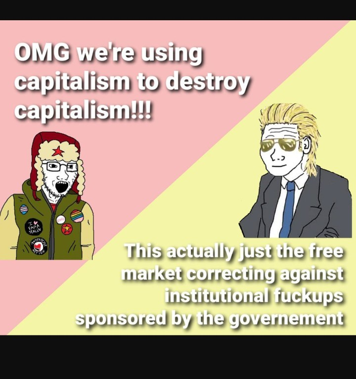 Love capitalism! - meme