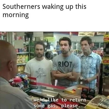 Morning In The South - meme