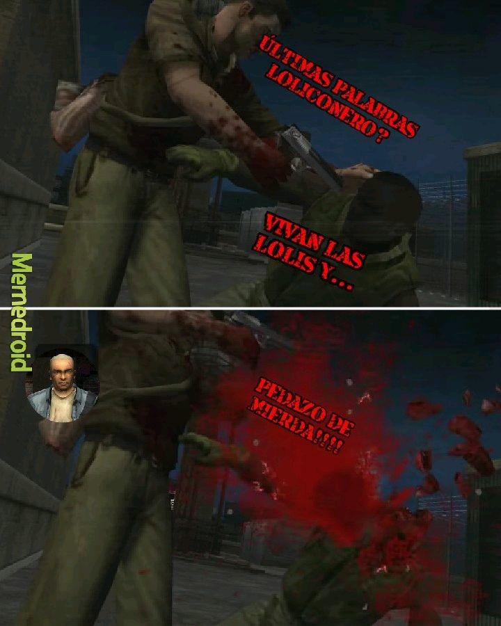 Muerte - meme