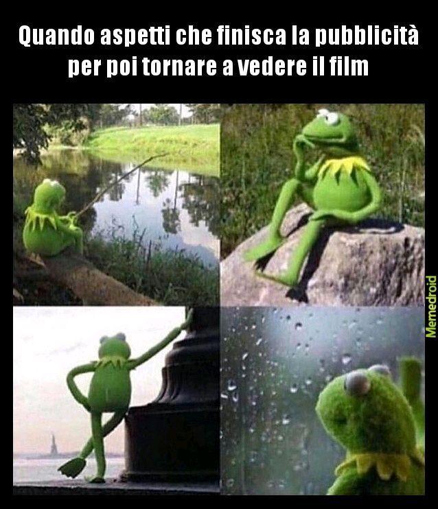 La pubblicità su Italia uno è cosi - meme