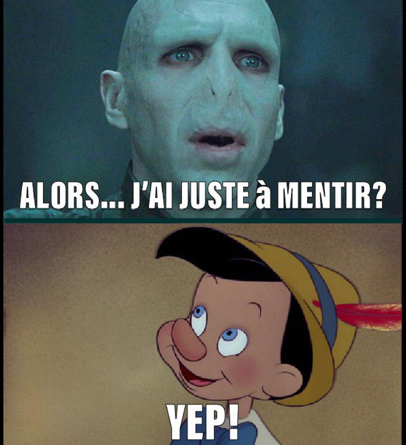 Voldemort va enfin cesser de recevoir des moqueries... - meme