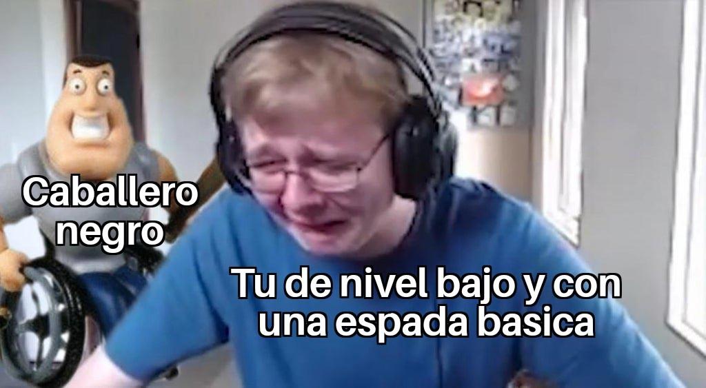 Tipico en Dark Souls 1 - meme