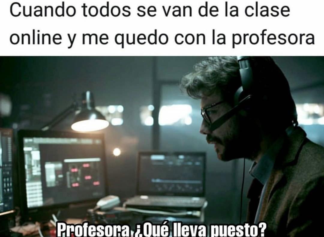 El profesor :D - meme