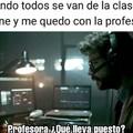 El profesor :D