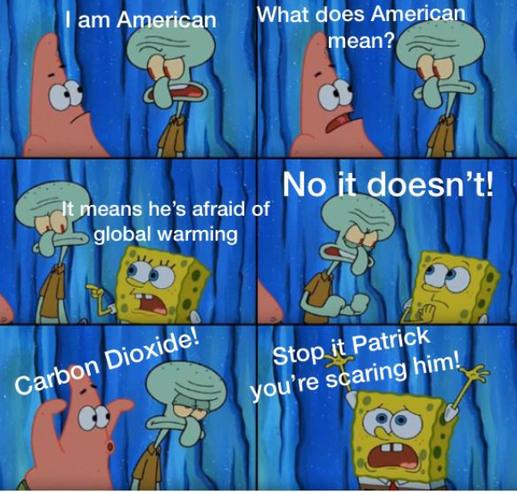 I speak in an American accent - meme