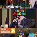 Ahora Mario entro al mame de los battle royale