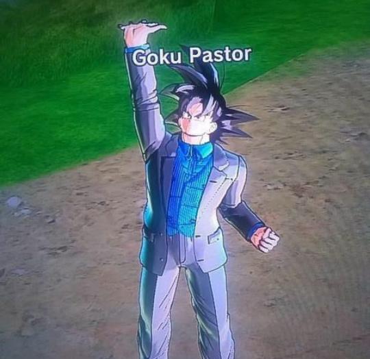 Goku Pastor - meme