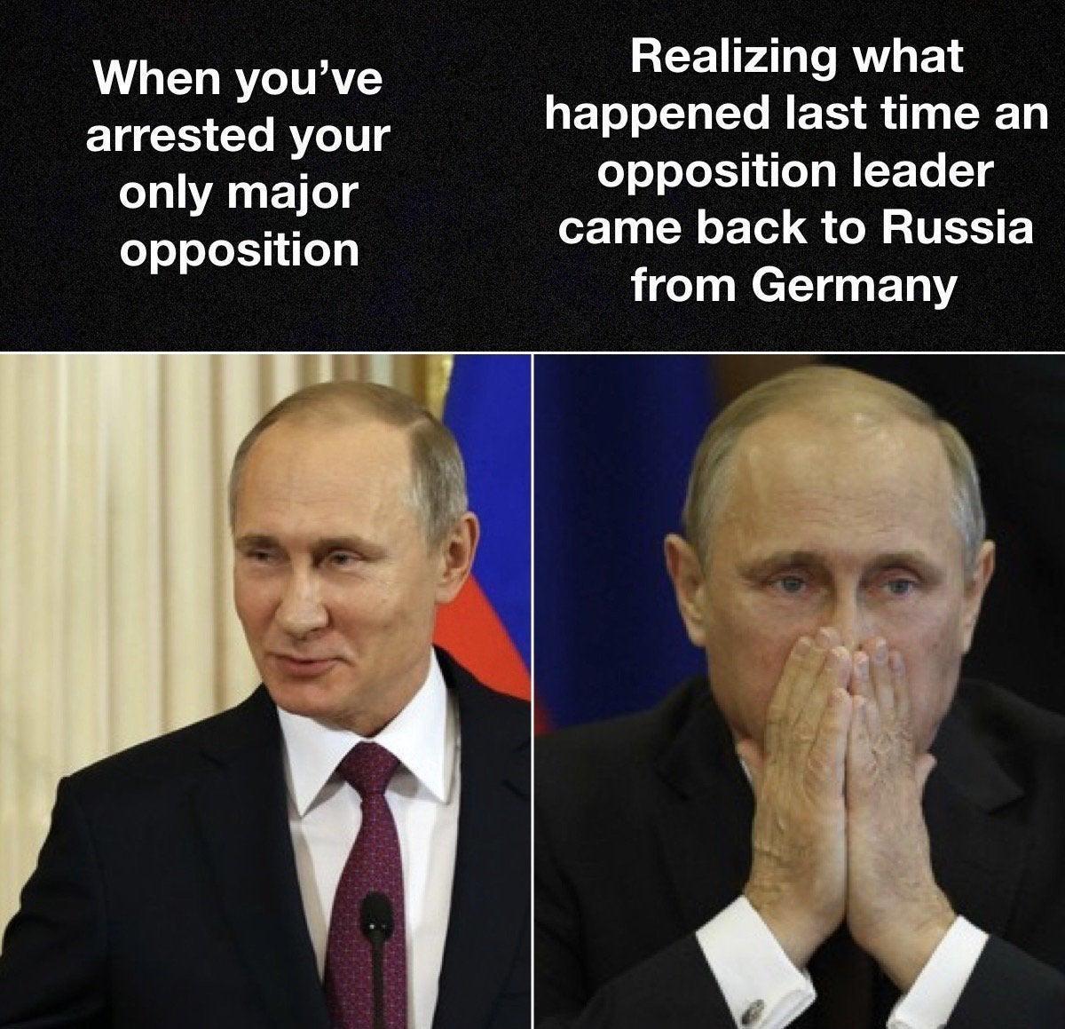Russians: Ah shit, here we go again. - meme