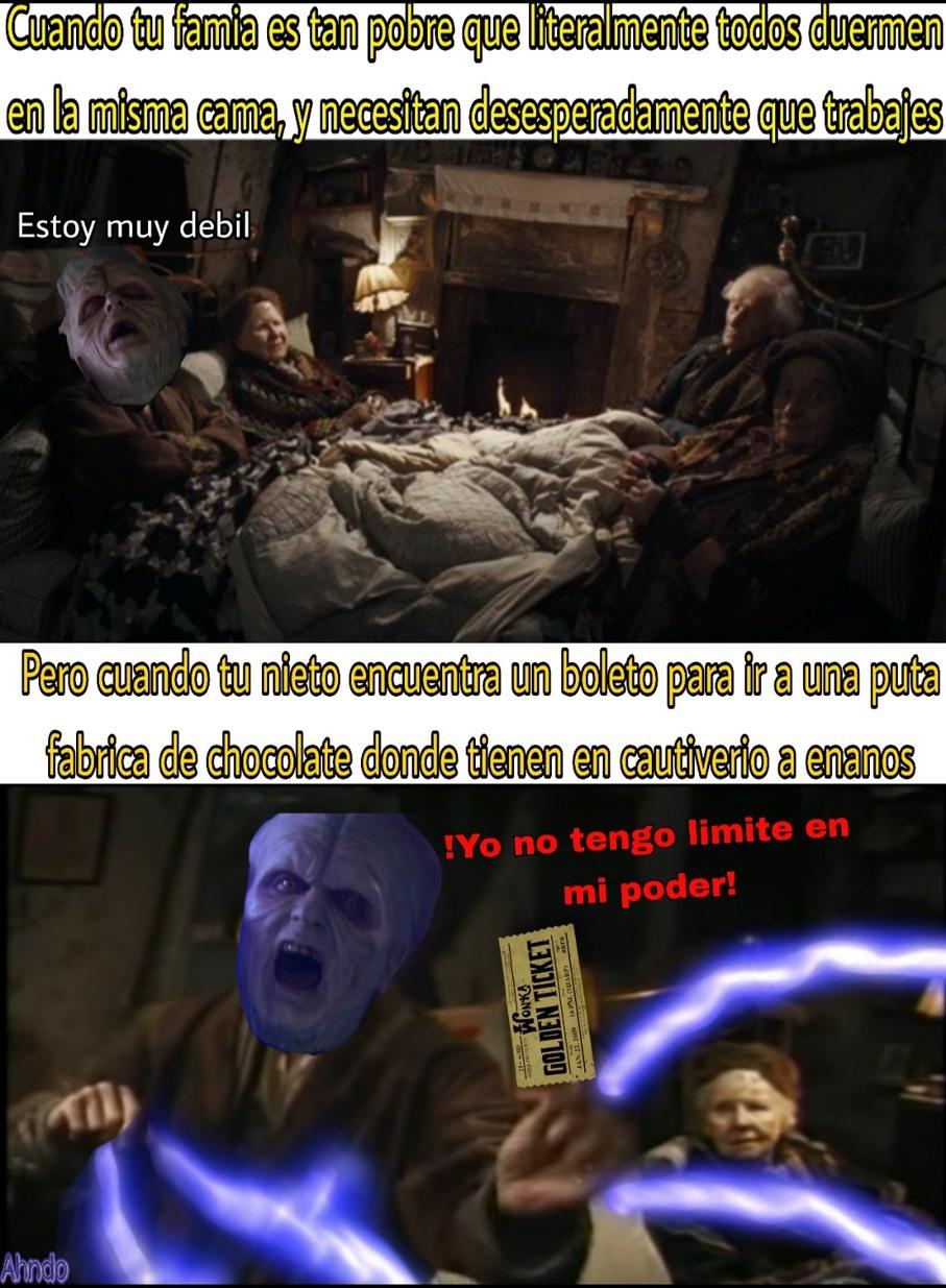 Unlinited poweeeeer! - meme