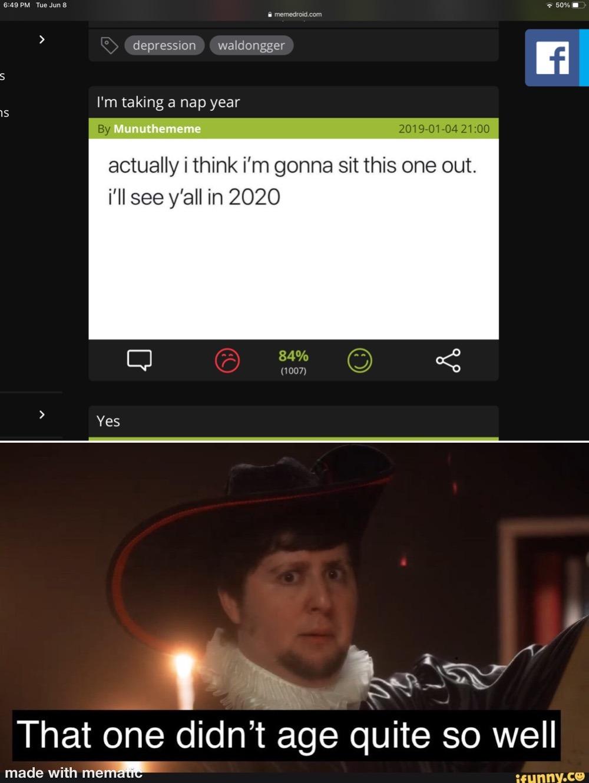 Yeah, ik, it's late - meme