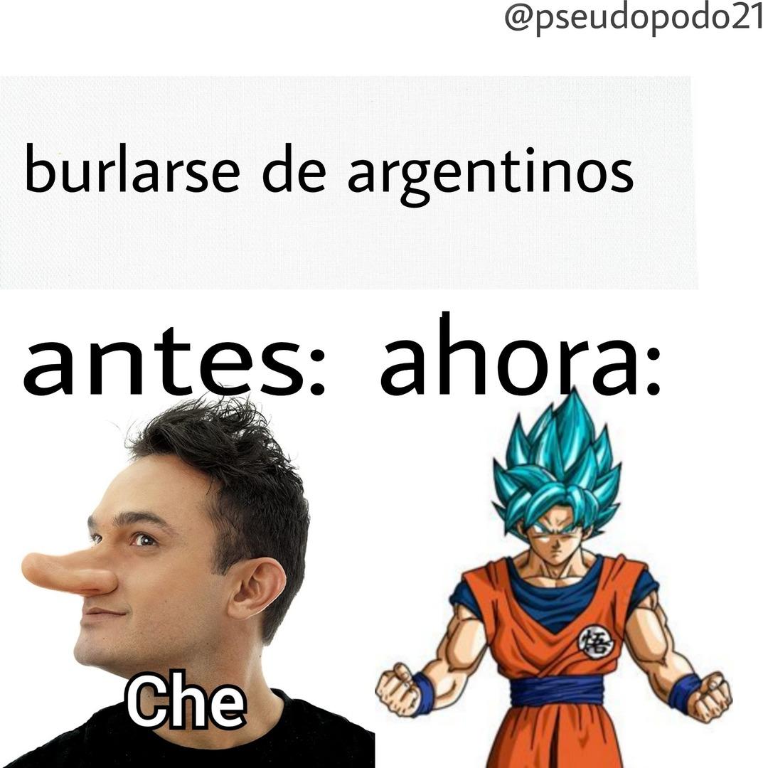 Che goku - meme