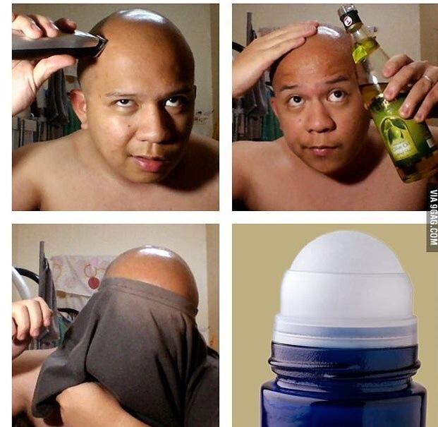 Desodorante xD - meme