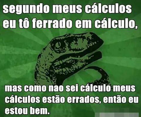 cálculo - meme