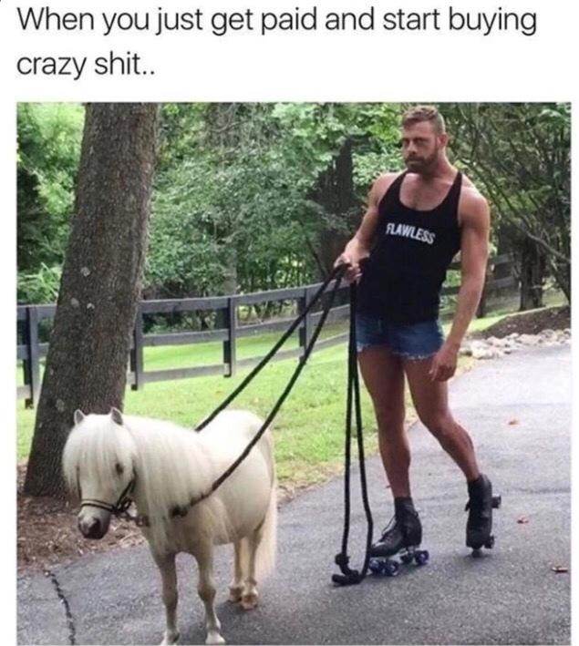 giddy up - meme