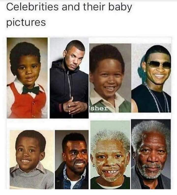 Just black celebrities though. - meme