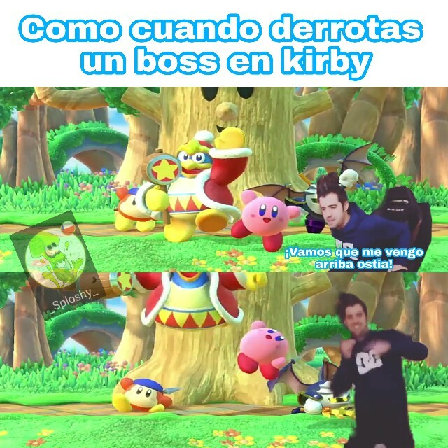 Kirby :D - meme