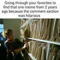 Comment sections