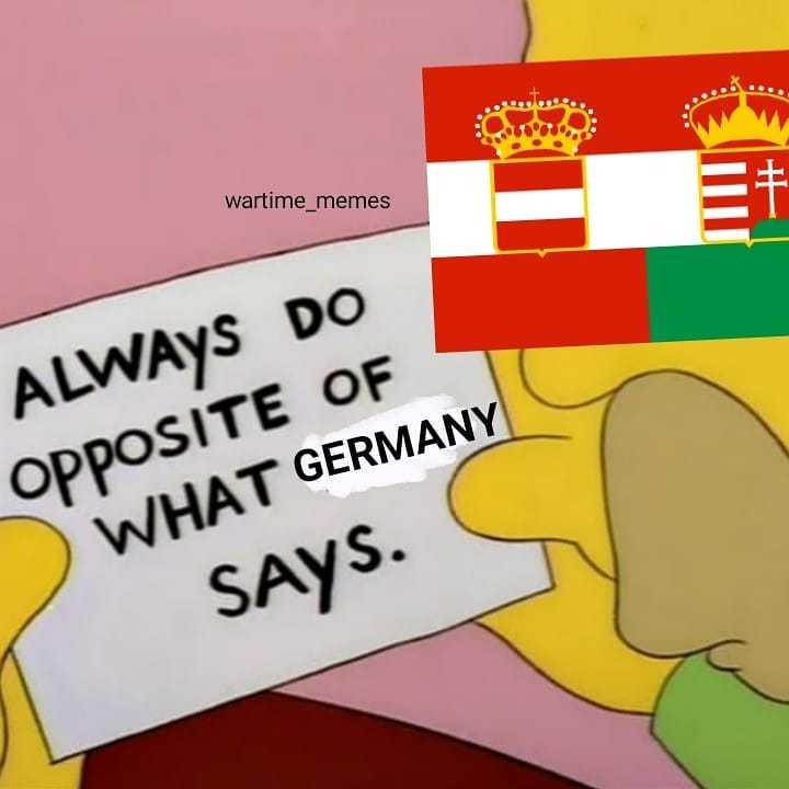 Austria Hungary - meme