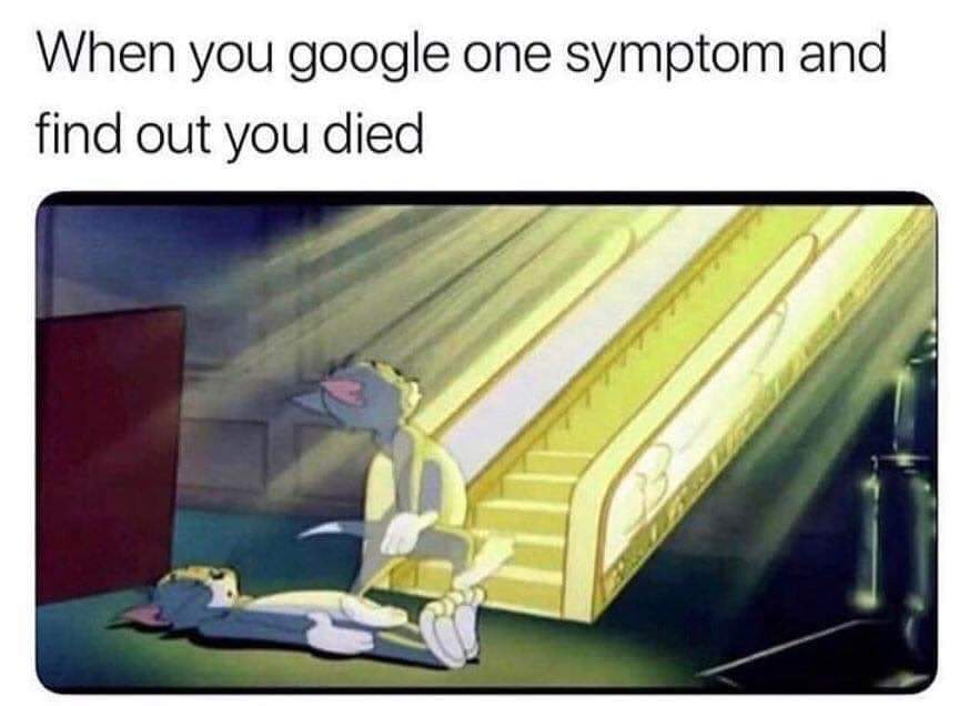 Congratulations you've been diagnosed with death. - meme