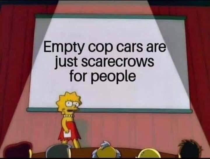 Its a cop see - meme