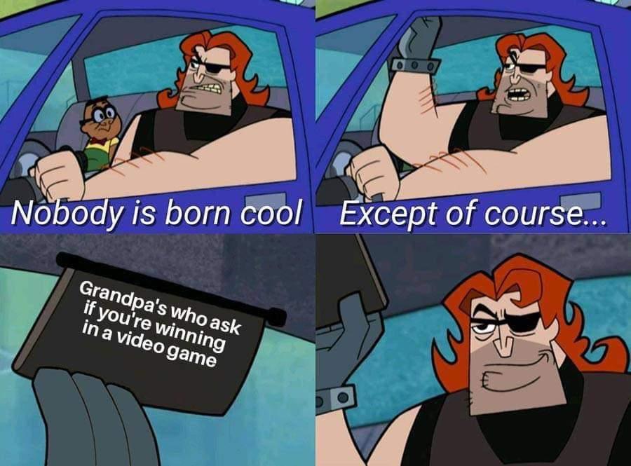 R.i.p Grandpa - meme