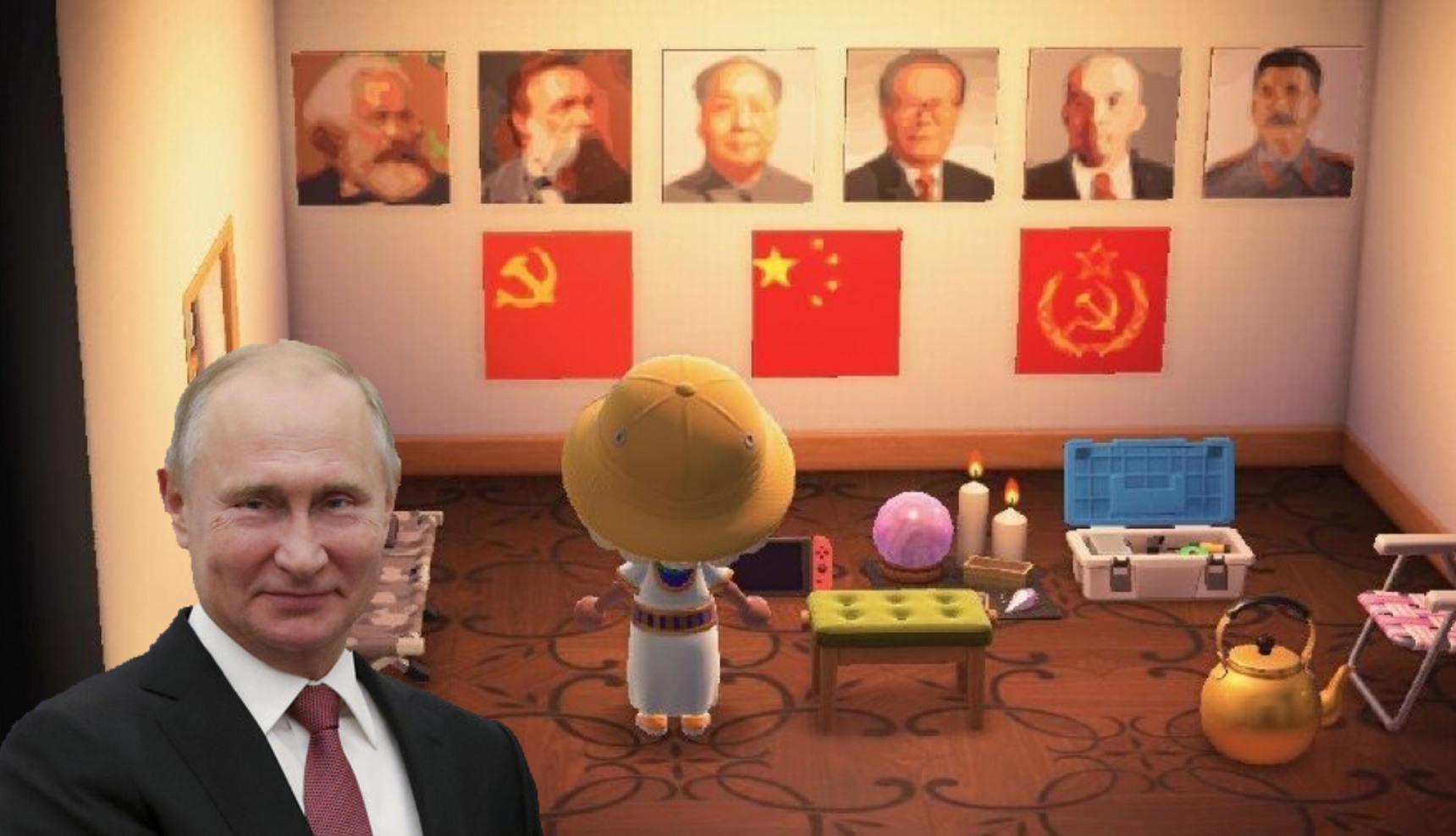Le communiste est le goulag - meme