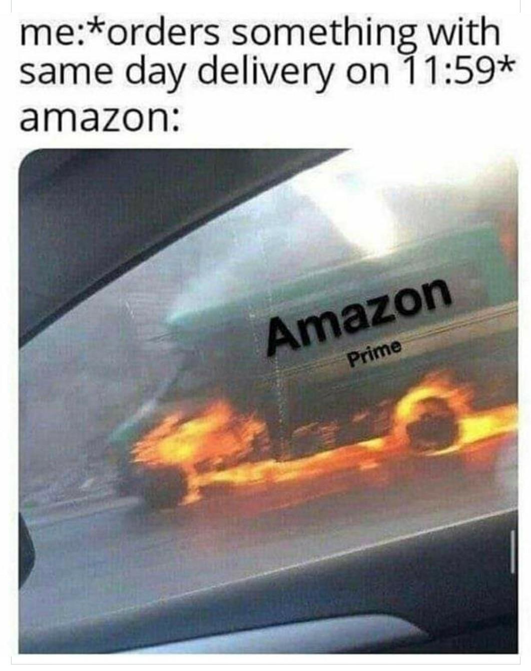 Comin in hot - meme
