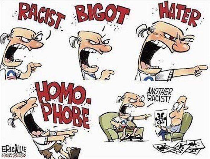 dongs in a bigot - meme