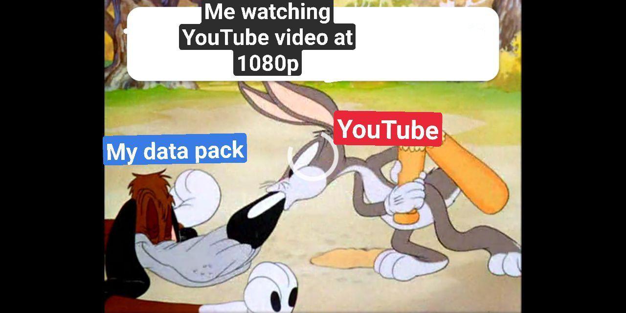 YouTube sucks (literally) - meme