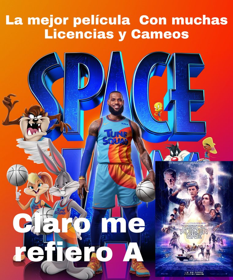 Space Jam A New Lachingada - meme