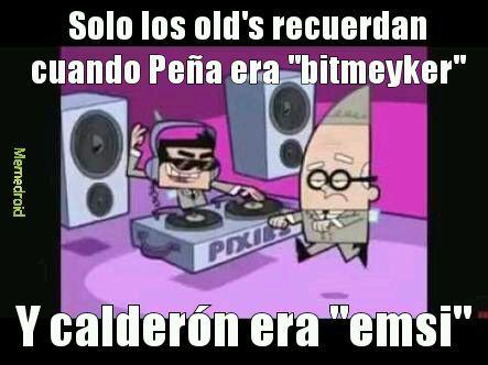 Los oldskull - meme