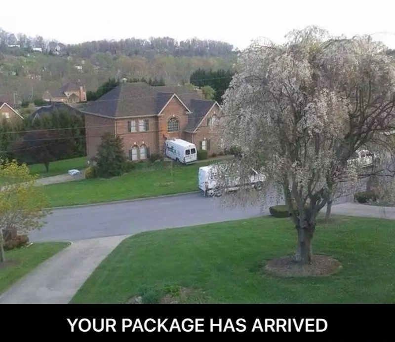 Package has arrived - meme